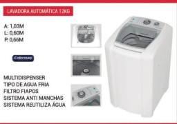 Máquina de lavar roupa automática LCM 12 kg