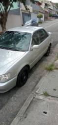 Corolla 1.8 automático zerado ac trocas