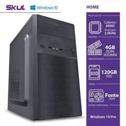CELERON DUAL CORE J4005 2.00GHZ 4GB DDR4 SSD 120GB WINDOWS 10 PRO<br>