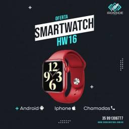 Smartwatch HW16 Lançamento 2021