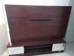 Painel de tv completo madeira compensada ótima qualidade