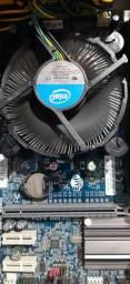 Placa mãe LGA1155 com processador Pentium G620