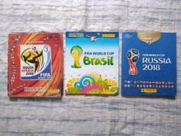 Álbuns copa 2010, 2014 e 2018