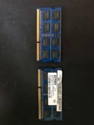 Memória Note 2GB DDR3 10600s 1333mhz