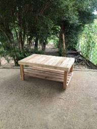 Mesa de centro de pallet