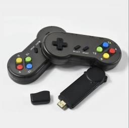 Video Game Retrô HDMI 628 Jogos| Nintendinho |Estilo Polystation-Controle Sem fio!
