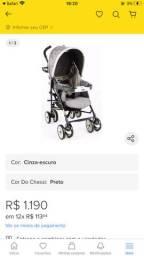 Carrinho de bebê ? Chicco