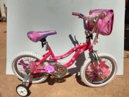 Bicicleta infantil aro 16 ( Barbie )