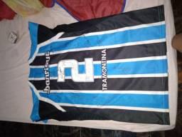 Blusa do Grêmio autografada