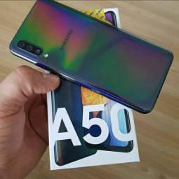 Galaxy A50, 128GB, Novo na Caixa lacrado! Aceito Cartão de Crédito!