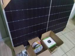 Energia Solar Instalada 400KWh - 350 Reais de economia mensal aproximada