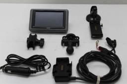 Gps Garmin Zumo 660 Completo Para Fixação E Ligação Na Moto