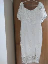 Vestido bodas ombro a ombro