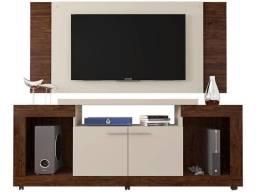 Rack com Painel para TV até 55? 2 Portas - Caemmun Premium Elegance