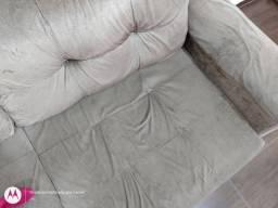 Sofá com chaise