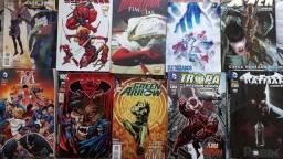 Quadrinhos,QH Batman, Superman, Deadpool, X-man, DC e Marvel