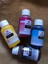 Tinta sublimática kit 4 cores novas