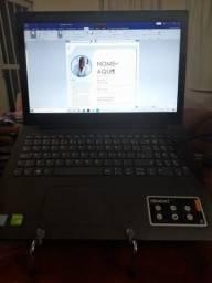 Notebook Ideapad Intel i7 Ram 8GB Placa de vídeo 4GB  Ssd 256GB e Hd 1TB