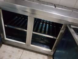 Balcão condimentadeira 3 portas