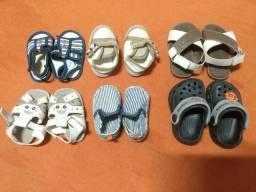 Lote de sapatos de bebê/criança