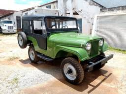 Ford jeep Willys 1975 6cil 100% com manual e nota