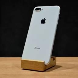iPhone 8 Plus Branco 256GB semi novo