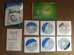 Manual e cd's Notebook Acer Aspire 3000/5000 series