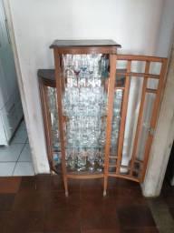 Cristaleira de madeira !!!!