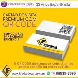 Cartão de Visita Premium Arte Grátis