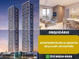 Orquidário, apartamento 2 quartos, suíte, varanda em 59m² no Iguatemi