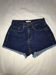 Short jeans PP (veste 34 e 36) Peça nova, marca Dress to
