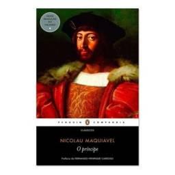 Livro O Príncipe - Nicolau Maquiavel - usado