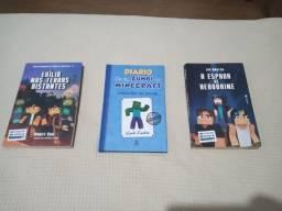 Coleção de livros Minecraft
