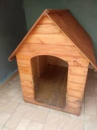 Casa madeira cachorro grande porte