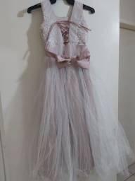 Vestido daminha/formatura