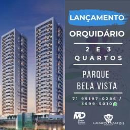 Lançamento Inédito - 2/4 com 1 suíte, varanda - Orquidário