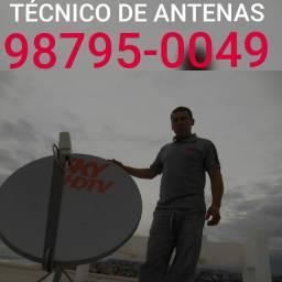 Antenista serviços de antenas