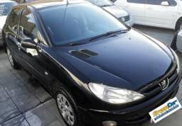 Peugeot 206 hatch 1.4 / 2008 completo - 2007