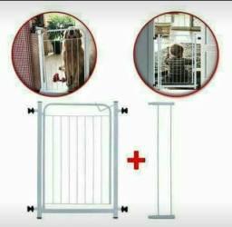 Portão Grade de Segurança com Extensor de 10 Cm Novo