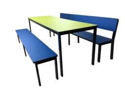 Mesas para refeitório escolar- direto da fabrica- entrega rápida