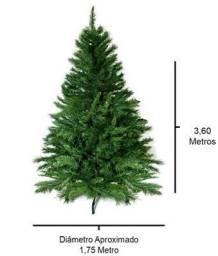 Árvore de Natal 3,6 metros