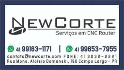 Serviço de Cortes em CNC Router