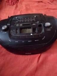 Rádio am/FM/USB