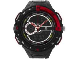 Relógio Unissex Umbro Anadigi - UMB-060-1 Preta Novo nunca usado