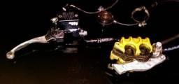 XRE 300 Sistema de freio dianteiro completão