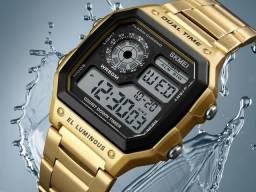 efed952870f Relógio Masculino Skmei 1335 Original Barato Promoção