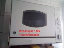 Lavadora de louças GE c/ Transformador