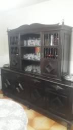 Vendo arca estante de madeira antiga