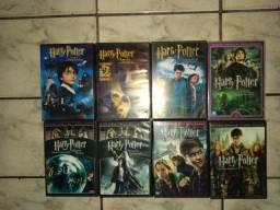 Filmes Harry Potter (em ótimo estado)