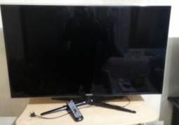TV Samsung 46 polegadas com controle remoto,